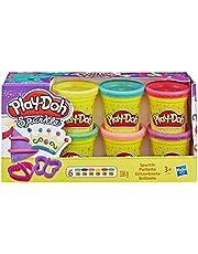 Play-Doh Kitchen Creations Sandwichmaker set voor kinderen vanaf 3 jaar, elastische klei en 6 andere kleuren