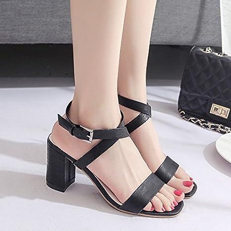 Lgk & fa estate sandali da donna estate sandali con spessore