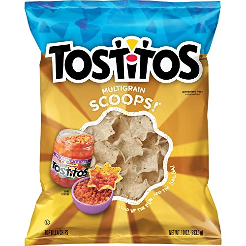 - Tostitos Tortilla Chips, Multigrain Scoops, 10 Ounce