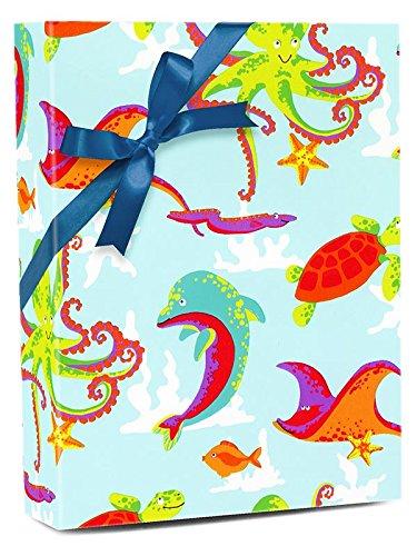 30'' X 100' Aquarium Gift Wrap by Paper Mart