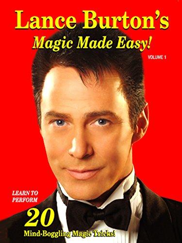 Lance Burton's Magic Made Easy Dvd Amazing Magic Tricks