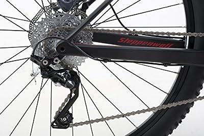 Steppenwolf Men's Tundra Carbon LTD Hardtail Mountain Bike, 29 inch wheels, 16.5/18.5/20 inch frame, Men's Bike, Black/Red, 99% assembled