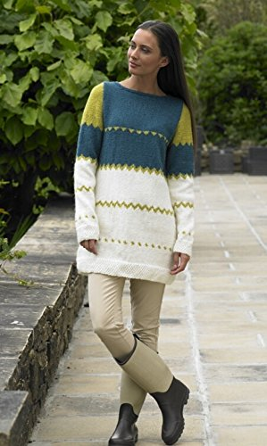 - Stylecraft Ladies Sweater Alpaca Knitting Pattern 8727 DK