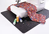 """Cottage Mills Stay-in-Place 15"""" x 18"""" Machine Mat - Reduces: Noise, Vibration and Machine Movement. Great for Sewing Machines and sergers. Made in"""