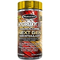 Weight Loss Pills for Women & Men | Hydroxycut Hardcore Next Gen Non-Stimulant | Weight Loss Supplement Pills…