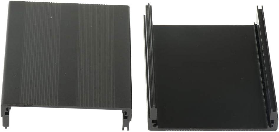 Alu Gehäuse Box Platinen Sicherheit Elektronik Netzteil Montage 100x76x35mm