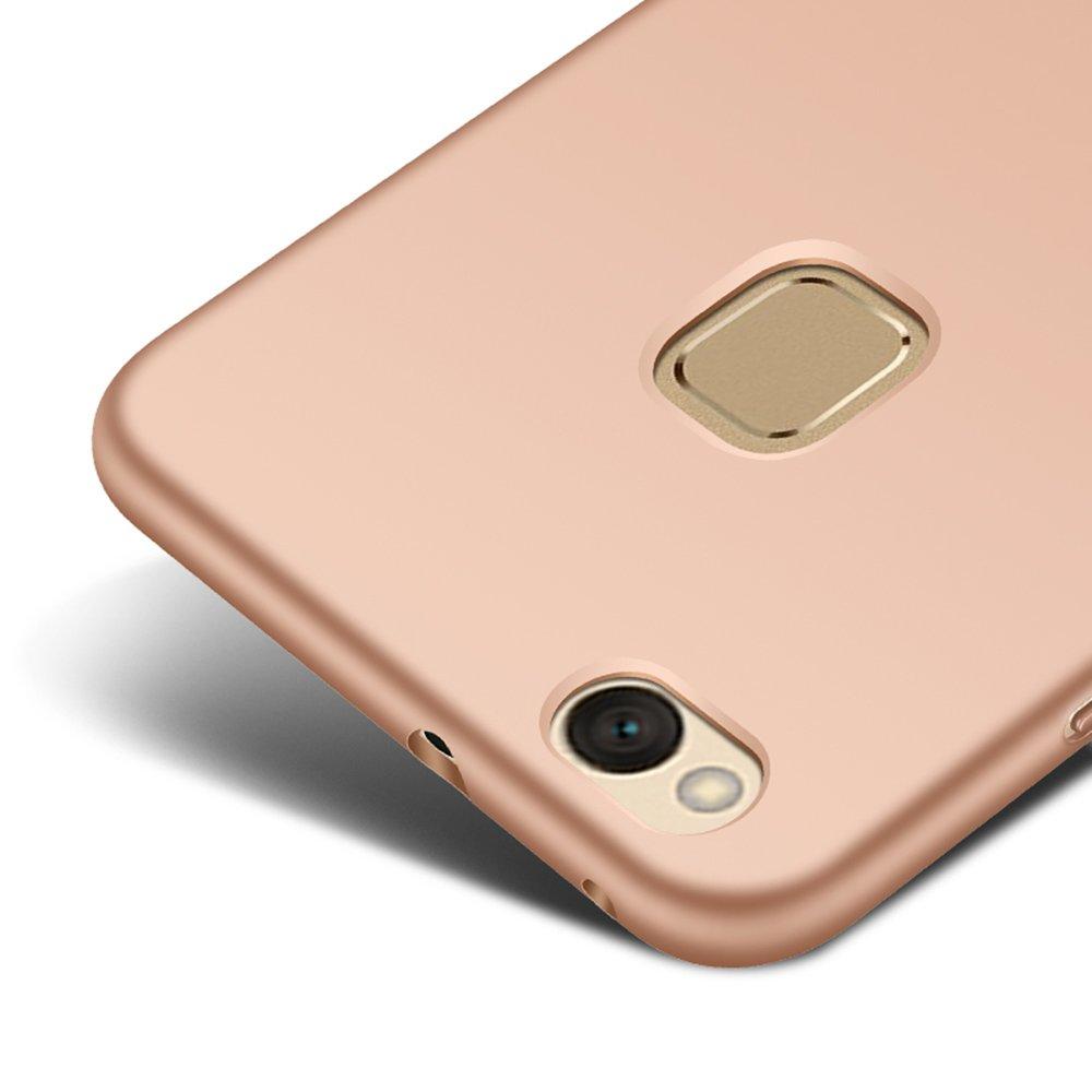 Oro rosa Ultra delgado Funda Case Cover y Protector de Pantalla Para
