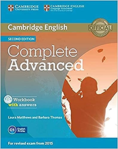 Complete Advanced Workbook With Answers With Audio Cd Second Edition por Laura Matthews epub