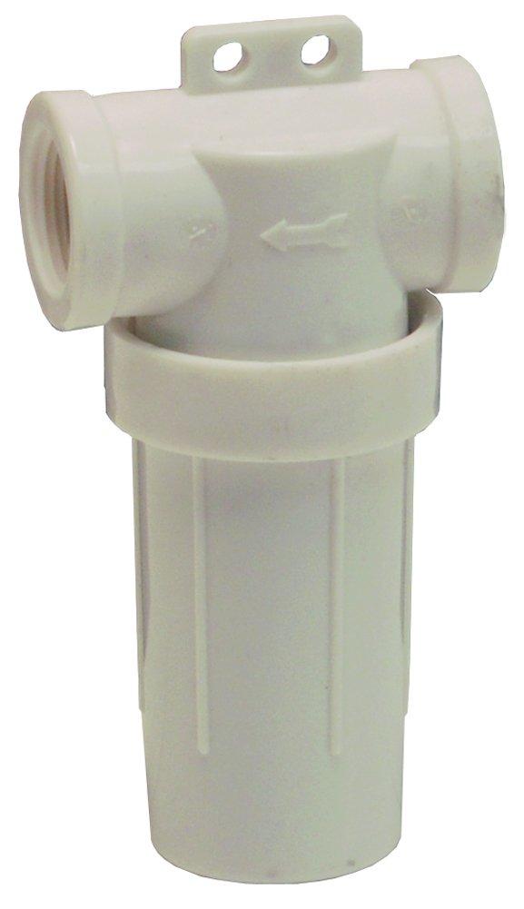 Dixon PTLS7540 FNPT Poly T-Line Strainer 40 Mesh, 0.75'' ID, Polypropylene