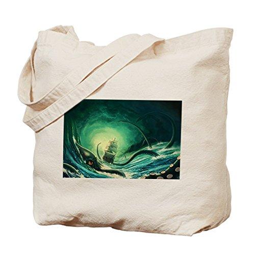 CafePress–Kraken–Gamuza de bolsa de lona bolsa, bolsa de la compra