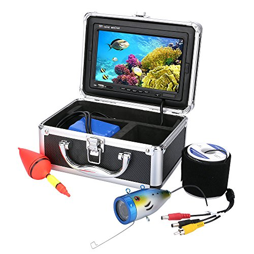 20M 7'' Color Digital LCD 1000TVL Fish Finder HD DVR Recorder Waterproof Fishing Video Underwater Fishing Camera Fish Finders And Other Electronics Mountainone