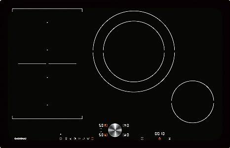 Gaggenau Piano cottura ad induzione CI 282 100 da 80 cm: Amazon.it ...