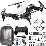 DJI Mavic Air Quadcopter Drone Fly More Combo with Hardshell Backpack, Bonus DJI Tello Drone, and DJI Tello Remote Controller (Arctic White)