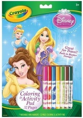 CRAYOLA Bulk Buy Coloring & Activity Pad con rotuladores Princesas ...