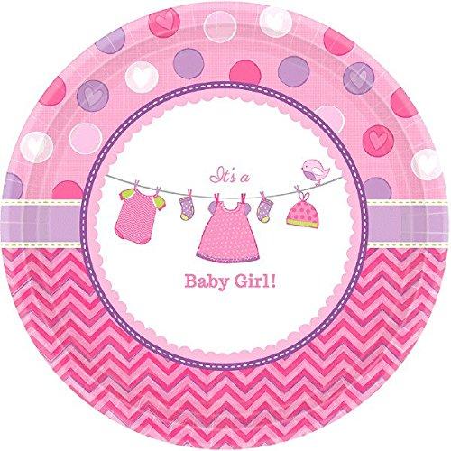 New Baby Girl Plate - 4
