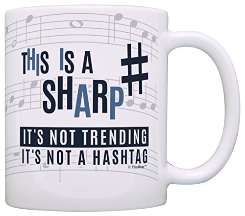 Music Teacher Hashtag Musician Coffee product image