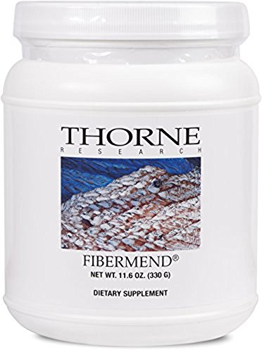 - Thorne Research - FiberMend - Prebiotic Fiber Powder to Help Maintain Regularity and Balanced GI Flora - 11.6 oz.