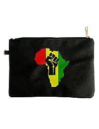 AFRICA Power Rasta Reggae Music Logo Womens Clutch Purse