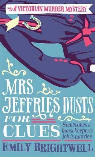 book cover of Mrs Jeffries Dusts For Clues