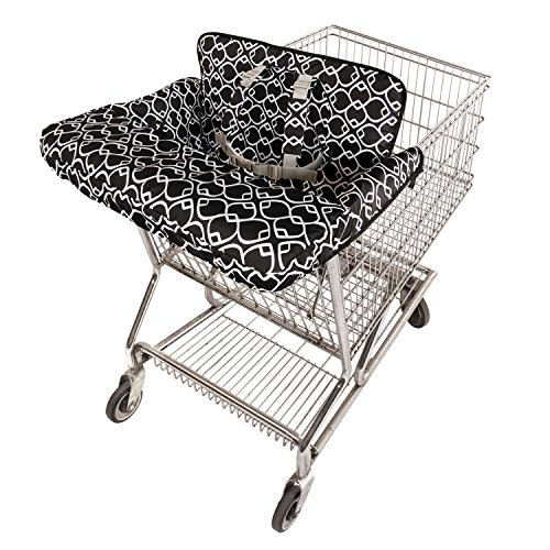 Goldbug Packable Shopping Cart and High Chair Cover Geo- ...
