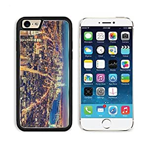 New York Metropolis Night Lights Top View Hdr Apple iPhone 6 TPU Snap Cover Premium Aluminium Design Back Plate Case Customized Made to Order Support Ready Liil iPhone_6 Professional Case Touch Accessories Graphic Covers Designed Model Sleeve HD Template by lolosakes