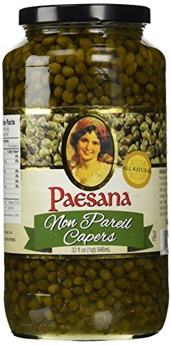 Paesana Non Pareil Capers 32 Oz (Pack of 3)