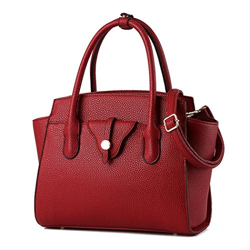 hydne-womens-elegant-simple-fashionable-leisure-metal-buckle-handle-handbagwinered