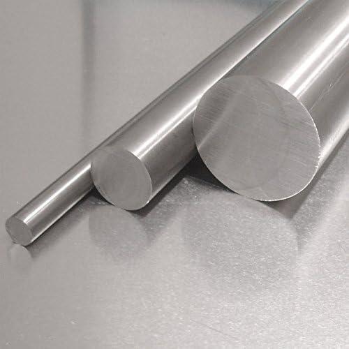 50cm Edelstahl Rundstab VA V2A 1.4301 blank h9 /Ø 25 mm L: 500mm Zuschnitt