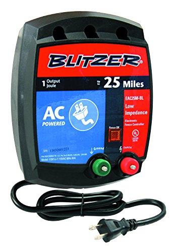ZAREBA Blitzer EAC25M-BL 1.0-Joule, Low-Impedance, 110-Vo...