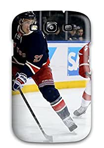 KNPQphR3574YoTPY Anti-scratch Case Cover LeeJUngHyun Protective New York Rangers Hockey Nhl (20) Case For Galaxy S3