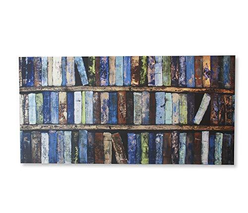 Quadro Canvas Etna Multicor 50X100cm