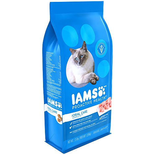 Iams PROACTIVE HEALTH Adult Cat Oral Care Chicken Dry Cat Food 3.5 Pounds