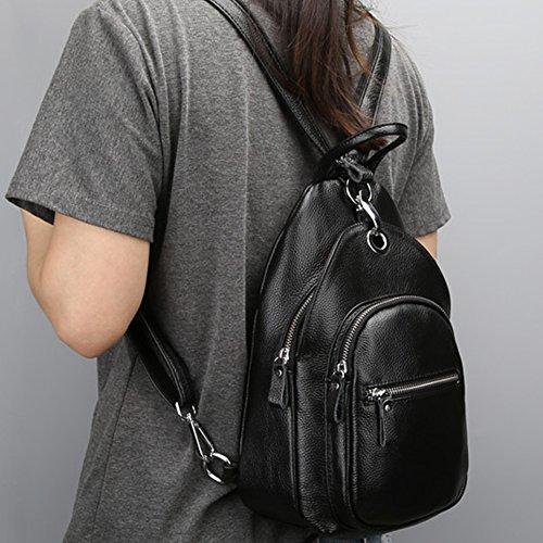 Fanmingsidi - Bolso mochila  para mujer azul azul negro
