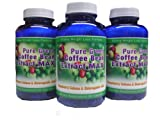 Pure Green Coffee Bean Extract Max ~ Strongest Diet Pill ~ 910mg Weight Loss Formula ~ Green Coffee Bean Extract 800mg ~ 100mg Raspberry Ketones ~ Downloadable FOOD JOURNAL Included ~ Contains up to 45% to 50% Chlorogenic Acid ~ 3 Month Supply