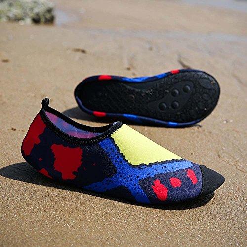Scarpe Donna Nuoto Uhoes Immersioni Creek Uomo Nudi Da Spiaggia Giallo Upstream E Piedi A Huateng Gioca dCqgXwTd