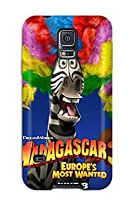Lori Cotter Elodie's Shop Best 4415600K40890098 New Fashionable Cover Case Specially Made For Galaxy S5(madagascar 3)
