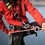 Azarxis Climbing Rescue Figure 8 Descender Rigging