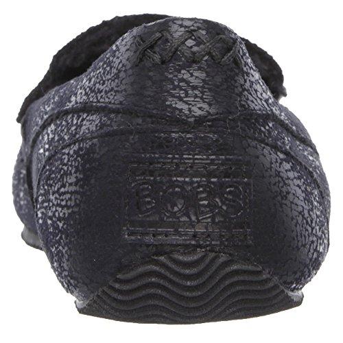 Skechers Bobs Confortable Jr Semelle Alimentaire Pantoufles Femmes Noires 6