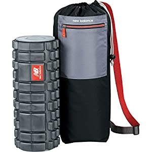 New Balance Foam Roller and Carrying Case with Internal Storage Space for Physical Therapy Exercise