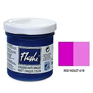 Lefranc & Bourgeois - Flashe Matte Artist's Color - 125ml Jar - Red Violet