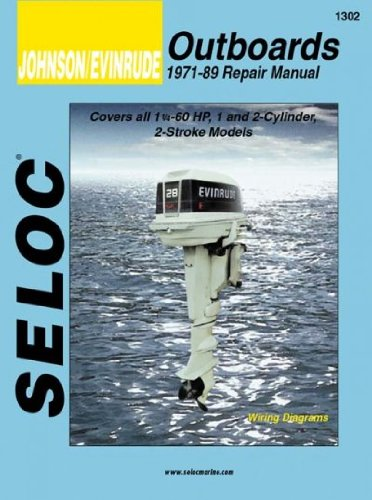 Selocs Johnson/Evinrude Outboard Tune-Up And Repair Manual/1971-1989 1 And 2-Cylinder (Selocs Johnson/Evinrude Outboard Tune-Up And Repair Manual) Selocs Johnson/Evinrude - Outboard Tune