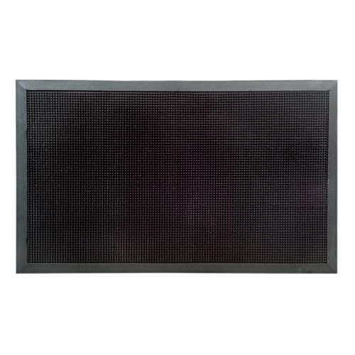 Imports Decor Rubber Door Mat, Rubber Studs, 32-Inch by 48-Inch by Imports Décor