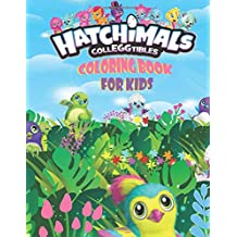 Hatchimals CollEGGtibles Coloring Book: For Kids