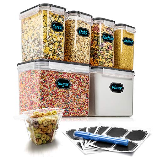 dry food container set - 7