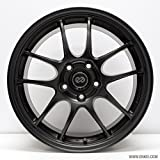 Enkei PF01- Racing Series Wheel, Black (18x10.5'' - 5x114.3/5x4.5, 15mm Offset) One Wheel/Rim