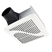 Broan Invent Series Single-Speed Fan 90 Cfm, 1.0 Sones, Energy Star Qualified