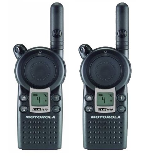 Motorola Professional CLS1410 5-Mile 4-Channel UHF Two-Way Radio (Two Count) by Motorola