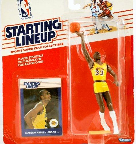 Starting Lineup - Kareem Abdul-Jabbar 1988 NBA Starting Lineup