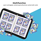 OTUCO 4 Pocket Compatible Pokemon Card Binder with