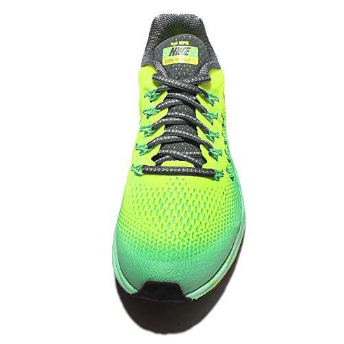 Nike 859623-700, Zapatillas de Trail Running para Niños Amarillo (Volt / Mtlc Red Bronze / Hasta / Green Glow)